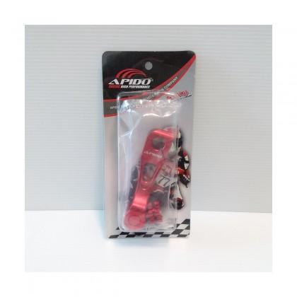 ALLOY BRAKE CAM LEVER (SHORT)(RED)(APIDO)