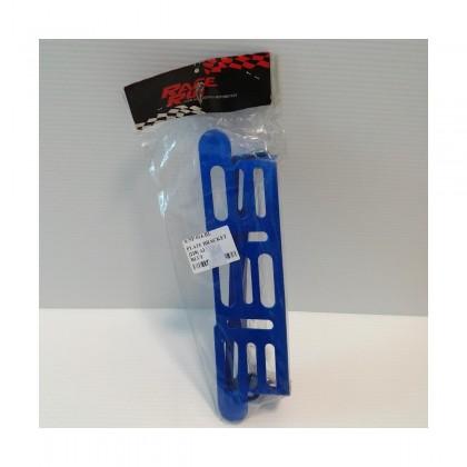 NUMBER PLATE BRACKET (228)(ALLOY)(BLUE)