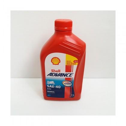 SHELL ADVANCE MOTOR OIL – AX3 SAE-40 4T
