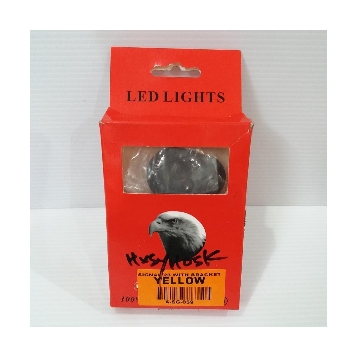 SIGNAL LED 23 YELLOW (WITH BRACKET)