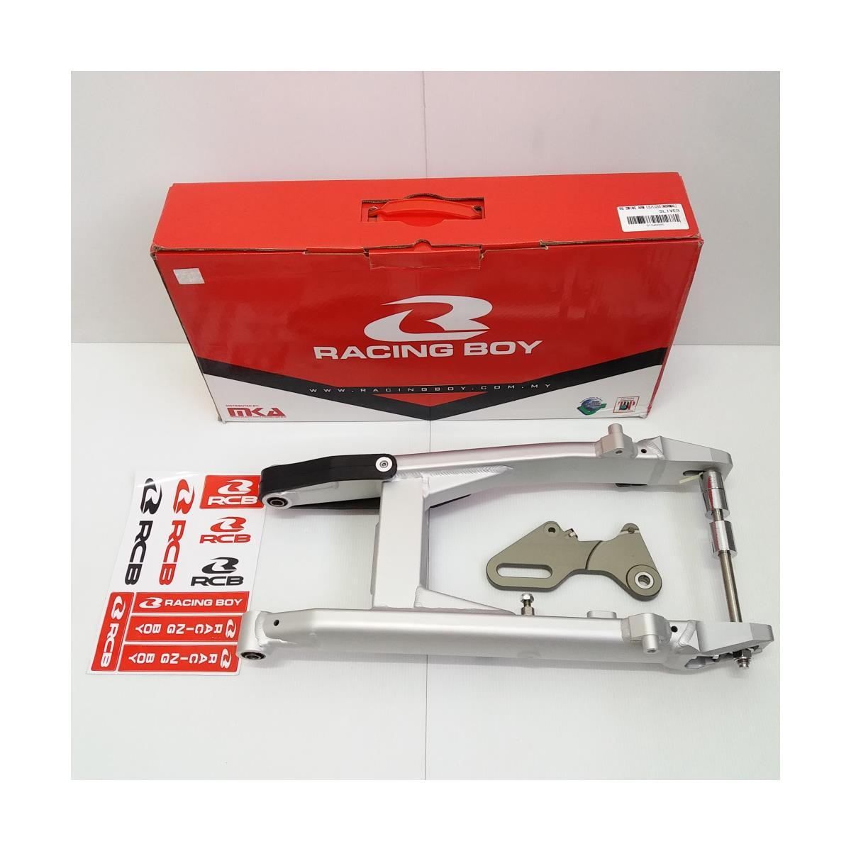 SWING ARM ALLOY LC/LC5S (NORMAL)(SILVER)(RACING BOY)